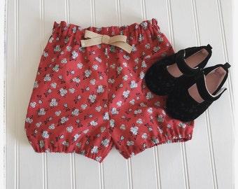Red shorts | Etsy