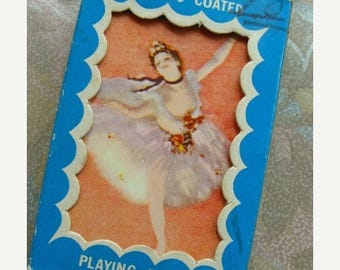 ON SALE 3 Antique Ballerina Ballet Dancer Very French Ballet Trade Playing Cards Card Lot