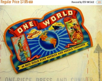 ON SALE Rare Antique One World Needle Book 309