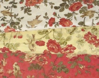 Red 3 Sisters Favorites Half Yard Fabric Bundle - Moda - 3 Sisters