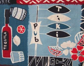 HAWIAIIAN FABRIC Robert Kaufman Island Prints Rare - 1 Yard - #m13