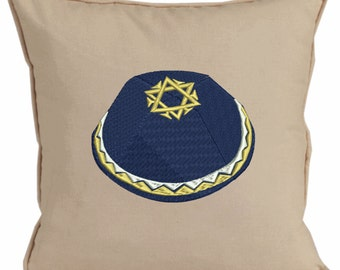 Yamaka embroidered pillows