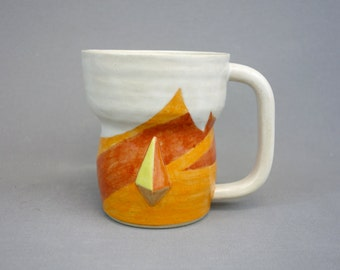 Jasper Mug: Crystal Gem Inspired Steven Universe Ceramic Coffee Mug