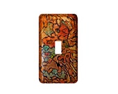 Abstract Mosaic Style Single Toggle Light Switch Cover
