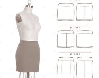 Sale!  Mabel skirt pattern (C1029) - Colette Patterns