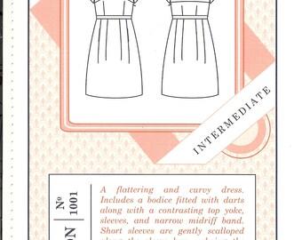 Sale!  Macaron dress pattern (CP1001) -  Colette patterns