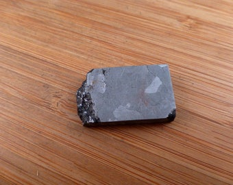 Campo Del Cielo Iron Meteorite slice / cabochon. Shooting Star.