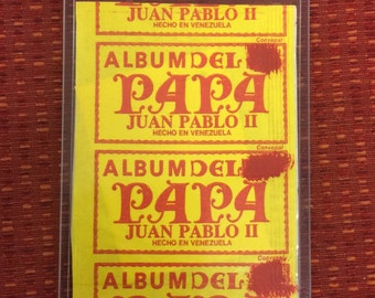 Unopened 1985 Pope John Paul 2 Card Pack