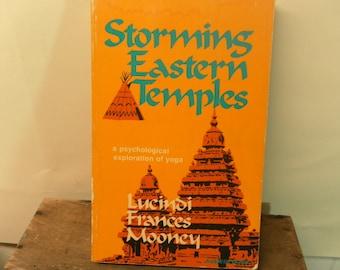 Storming Eastern Temples Vintage YOGA book 1976