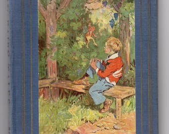 RILEY Fairy Tales by James Whitcomb Riley rare vintage book 1923