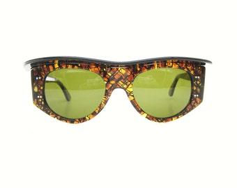 Rare Vintage Anglo American Visor Glasses Sunglasses Excellent Rare!
