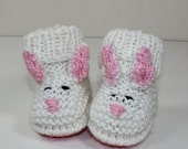 HALF PRICE SALE Instant Digital File pdf knitting pattern Toddler Bunny Boots knitting pattern