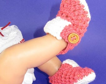 50% OFF SALE Instant Digital file pdf download knitting pattern only- Baby Lacey T Bar  Sandals  pdf download knitting pattern