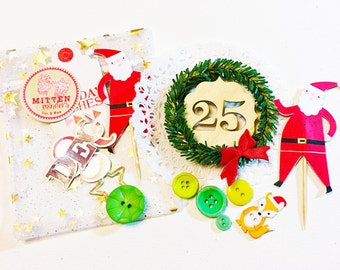 Christmas Embellishment Grab Bag