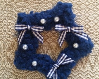 2-Way Navy Sailor Star Barrette and Pin Combo