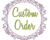 Custom Shoe Bag Order for Pabonfield
