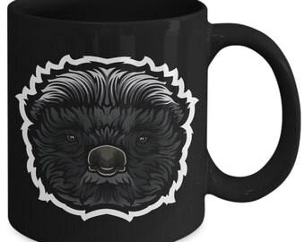 Honey Badger Ratel Digger Coffee Mug