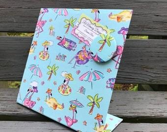 Flamingo Desk Accessory, Magnetic Board, Magnetic Organizer, Magnetic Planner, Desk Planner, Flamingo Party, Flamingo Friend Birthday