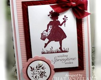 Stampin' Up Sending Springtime Smiles Card