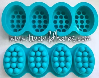 MASSAGE BAR Mold, 4.5 oz cavities, Silicone, TWH Exclusive
