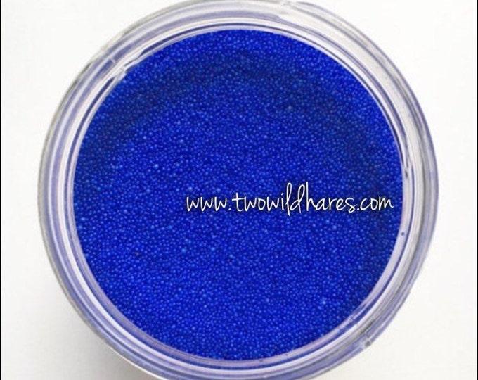 Jojoba Beads, Electric Blue, 20/40