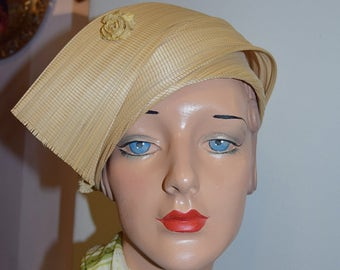 French Sisal Halo Hat