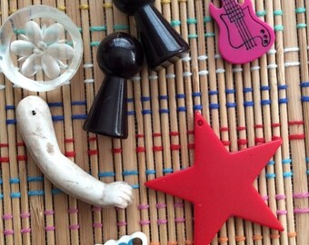 Fun Vintage Assemblage or Jewelry Findings