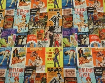 Pin Up Girl Shirt Pulp Novel Covers Made to Order up to size 6XL