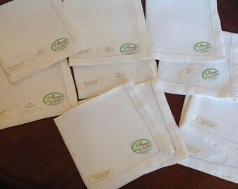 Irish Linen Napkins Set of Ten
