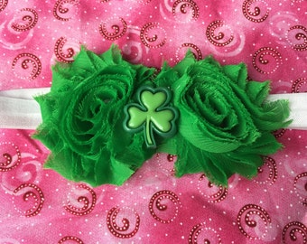 St Patrick's Day headband