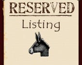 Private listing for stickmouse