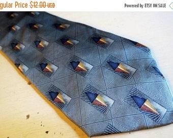 SALE Vintage BILL BLASS Black Label Silk Necktie Made in Usa