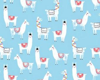 Dear Stella - No Drama Llama Collection - Llama Herd in Topaz
