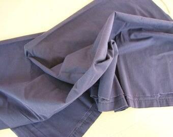 "Black cotton material/fabric -- 46"" x 30"""