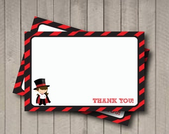 Magician Thank You Note - Magic Girl Thank You Card - Digital Printable Thank You - Magic Party - Magic Thank You Note - Magician Party