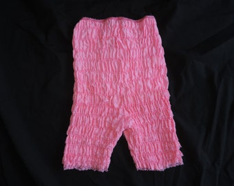 ruffle tap panties pink lace high waist rumba square dance shorts frilly sissy large petticoat pants