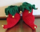 Elf Booties, Handmade