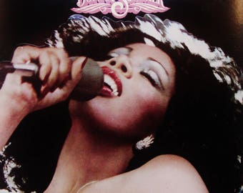 "DONNA SUMMER ""Live and More"" Double Vinyl Record Album Vintage 1978 Original Press Classic Near Mint/Near Mint Queen of Disco"