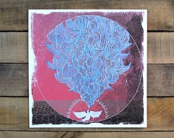 Singing Dove Giclee Print