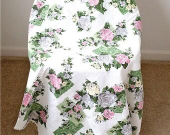 GORGEOUS Vintage Floral Fabric