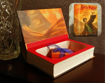 Hollow Book Safe (Harry Potter and The Deathly Hallows)