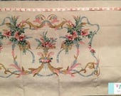 Vintage Tan Placed Floral Pillowcase