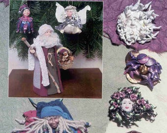 Vintage 1993 HOTP Friendly & Fimo Book by Maureen Carlson