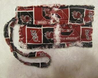 University of South Carolina inspired Clutch bag Cell Phone Case University of South Carolina inspired Wristlet Gift for Girls Gift For Her