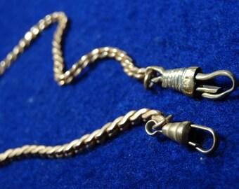Unsigned GF 12 Inch Pocket Watch Chain