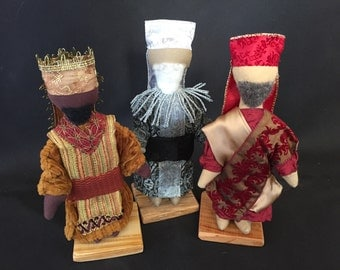 Wise men trio for Engel Soft Sculpture Hands-on Nativity Set