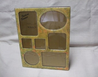 Floral Enamel Multi-Photo Frame by The Bucklers