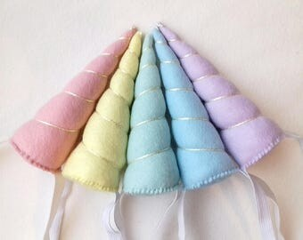 Pastel Unicorn Horn, Unicorn Headband, unicorn costume, unicorn accessories, unicorn theme party, pastel headband, narwhal, unicorn girl