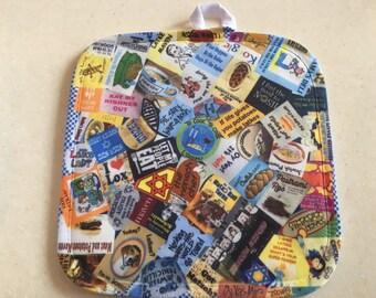 Jewish Yiddish Hot Pad/Pot Holder