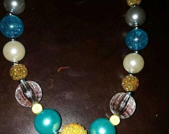 Bubblegum Chunky Necklace